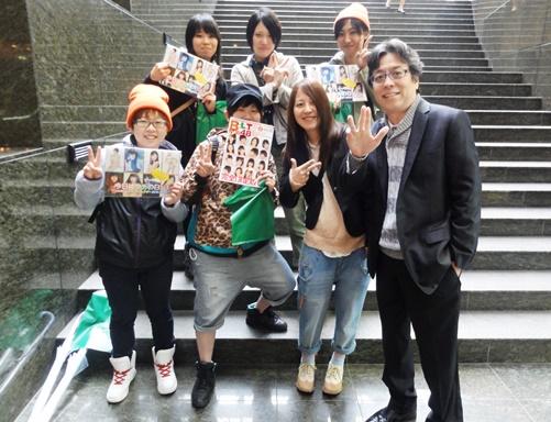 NMB48の女性ファンと遭遇した!