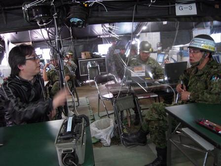 女川町善通寺 第14旅団 司令部指揮所